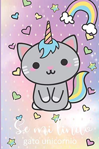 se mi lindo gato unicornio: Libreta de Unicornio Para Dibujos cuaderno de boceto diario de Unicornio regalo ideal para regreso a clases