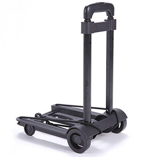 TRIXES Faltbarer tragbarer kompakter Wheelie Trolley Gepäckwagen Einkaufstrolley Travel Koffer