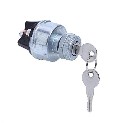 Unterbrechen Universal Zündung Starter Schalter Schaft mit 2Schlüssel für Auto Traktor Traile - Universal-auto-starter, Fernbedienung