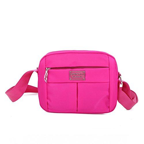 Korean Messenger Bag/Fashion Casual Umhängetasche/Oxford Tuch Sporttasche/Frau diagonal Tasche-H (Messenger Woven)