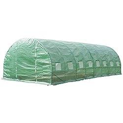 OSE Serre de Jardin 24m2 - Vert - 300 cm