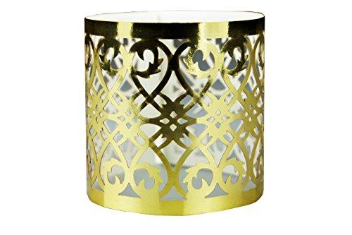 n-Ringe in Farbe gold aus Papier für ihren festlichen Anlass 12 Stück (Serviette-wrapper)