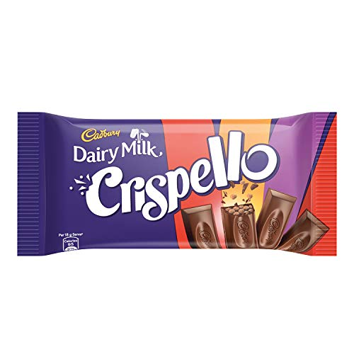 Cadbury Dairy Milk Crispello Chocolate Bar, 33 g