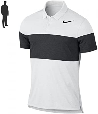 Nike Modern Fit Tr Dry Block Camiseta Polo de Manga Corta de Golf, Hombre