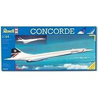 """Revell Modellbausatz Flugzeug 1:144 - Concorde """"British Airways"""" im Maßstab 1:144, Level 3, originalgetreue Nachbildung mit vielen Details, Zivilflugzeug, Passagierflugzeug, 04257"""