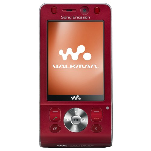 Sony Ericsson W910i hearty red UMTS HSDPA Handy