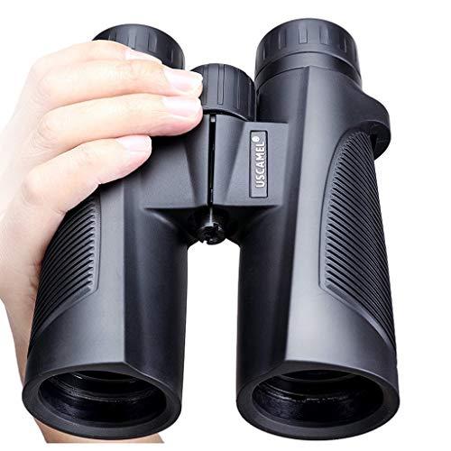 XL- HD BAK4 Prism 10x42 Fernglas für Erwachsene, professionelles Ferngläser für Vogelbeobachtung Reisen Jagd Konzerte Sport