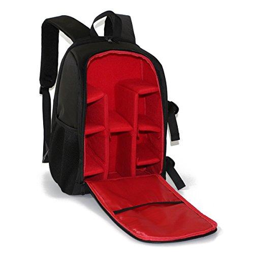 Wasserdicht SLR-Kamerarucksack Rucksack Fotorucksack für Spiegelreflexkameras Objektiv und Zubehör