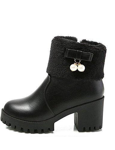 ShangYi Mode Frauen Frauen Frauen Schuhe Schuhe Damen Frühjahr / Herbst / WinterHeels / Plattform / Cowboy Western Stiefel / Schuhe / Roller Skate / Mode / Schuhe Schwarz  [B01LZZ6DJQ] a84421