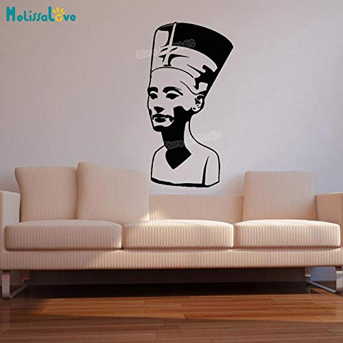 Ajcwhml Pegatinas Pared Vinilo Fresco Queen Nefertiti