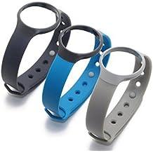 WEINISITE Couleur Coloré Remplacement Bandes Bracelet Avec Fermoirs pour Misfit Flash