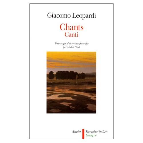 Chants (bilingue). Canti