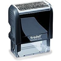Trodat Identity Protection Stamp - Sello de oficina (46 x 18 mm)