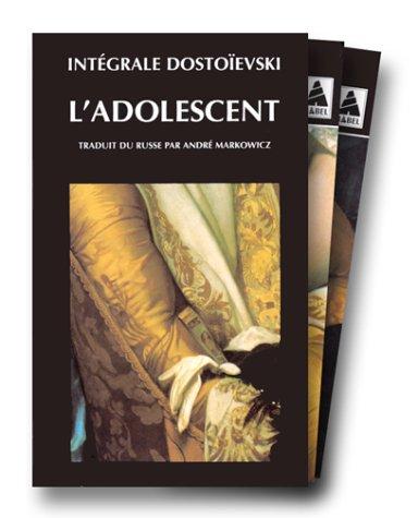 L'Adolescent, coffret de 2 volumes