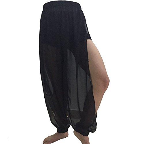 Best Dance Hohe Taille Hose Yoga Hose Kostüm Bauchtanz Harem Hose ()