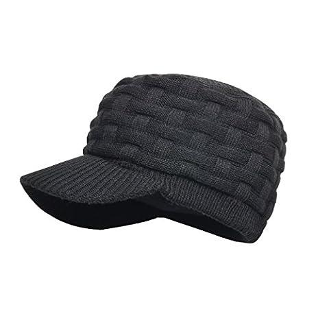 dexshell Bonnet imperméable à visière Peaked : couleur : Noir taille unique