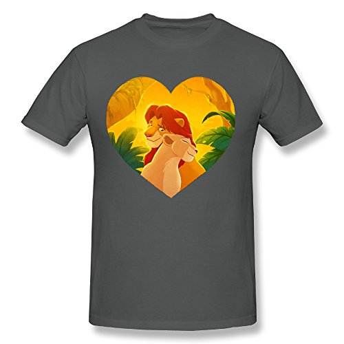 zenthanetee-mens-the-lion-king-love-t-shirt-us-size-m-deepheather