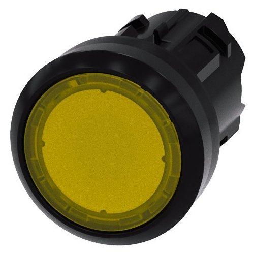 Preisvergleich Produktbild Siemens SIRIUS ATC Taster hell rund gelb Taste galvanisiert momentaneo