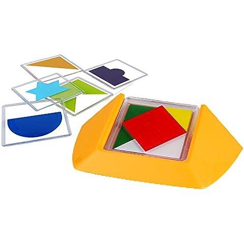 Código de color, SainSmart Jr. 100 Challenge Juego De Puzzle, Desarrollar Habilidades De Razonamiento Espacial Lógica