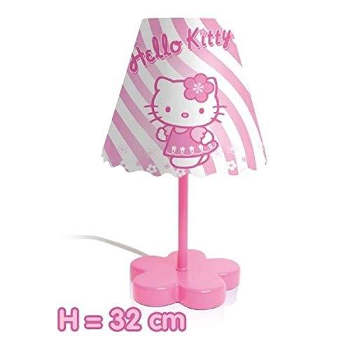 HELLO KITTY LAMPE A POSER ENFANT PLASTIQUE