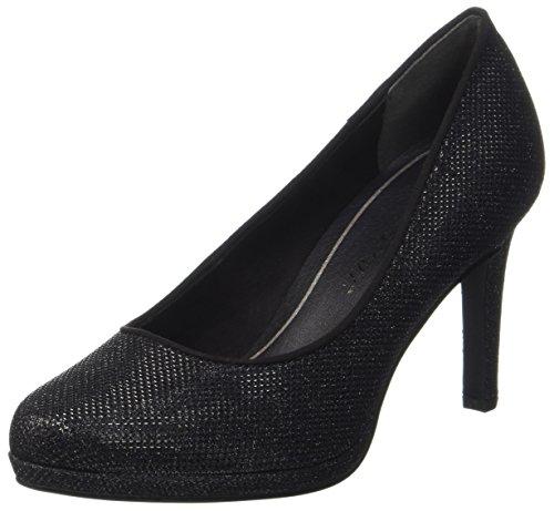 Marco Tozzi 22450, Zapatos Tacón Mujer, Negro Black