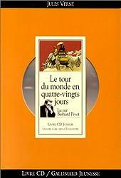 Le Tour du monde en quatre-vingts jours (1 livre + coffret de 2 CD)