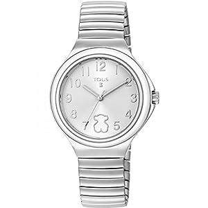 Reloj Tous Easy Blanco Niña Plateado