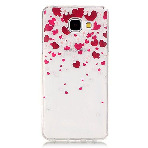 Meet de Soft TPU / Coque / Housse / Case / Protection pour Apple iPhone 6 Plus / iphone 6S Plus, Doux Silicone / Etui Housse / Bumper Case Dandelion pour Apple iPhone 6 Plus / iphone 6S Plus - d'amour d'amour de prune