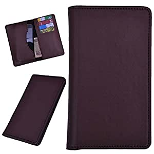 DCR Pu Leather case cover for Gionee Elife E7 Mini (brown)