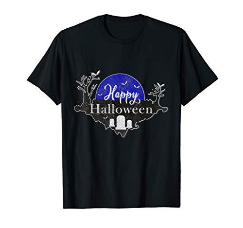 Funny Happy Halloween Trick or Treat Grab Damen Herren  T-Shirt