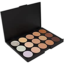 PhantomSky 15 Colores Corrector Camuflaje Paleta de Maquillaje Cosmética Crema 1 , Perfecto para Uso