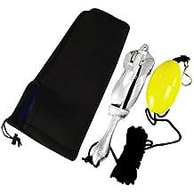 MagiDeal kayak Baliza Ancla kit de Bolsa de Almacenamiento para Barcos,Veleros Motos de agua Canoas Accesorios