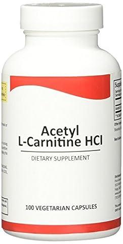 L'acétyl L-Carnitine de Pure Science HCI 525mg – immunité, Detox