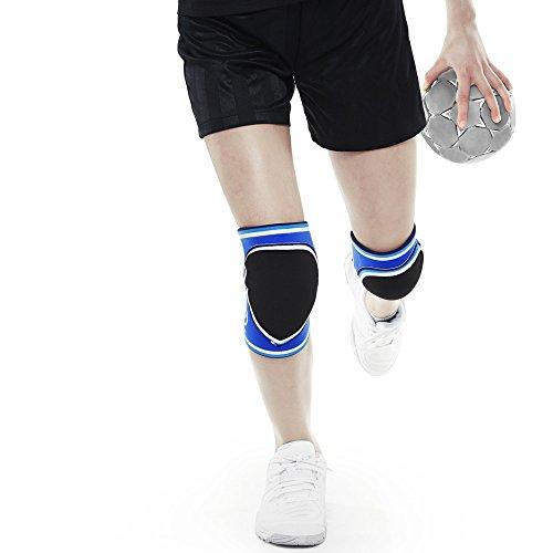 Rehband Knieschutz für Kinder XL blau