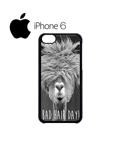 Bad Hair Day Llama Lama Swag Mobile Phone Case Back Cover Hülle Weiß Schwarz for iPhone 6 White Weiß