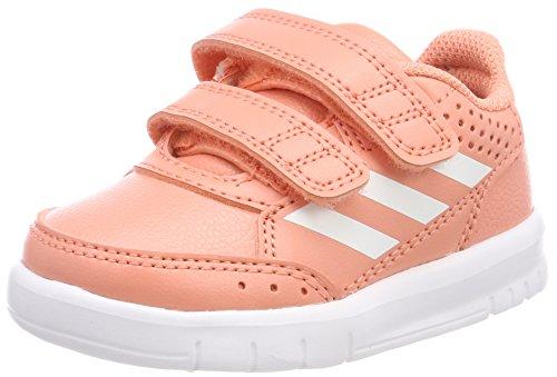 adidas Unisex Baby AltaSport Cloudfoam Sneaker, Pink (Chalk Coral/Footwear White/Real Coral), 19 EU