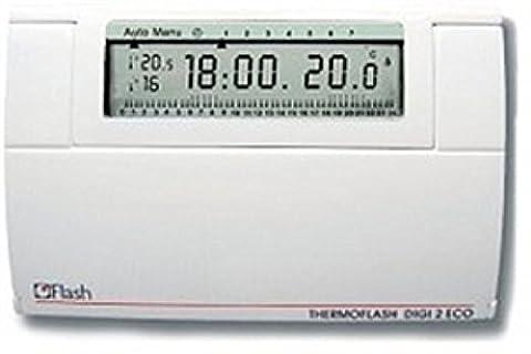56130 - flash (hager italie) chronothermostat mur (7 Giorni Programma Termostato)