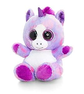 Keel Toys KEELTOYS - Peluche animotsu de Unicornio, 15 cm, Color Morado