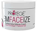 Premium Daily Moisturizer - EmFACEize - Anti-aging Day Cream with Antioxidant Protection + Firms Skin + Helps Reduce Wrinkles and Fine Lines + Collagen + Vitamin E + Hyaluronic Acid (60ml)