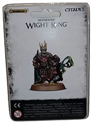 Games Workshop Jeux Atelier 99070207006Deathrattle Wight King Miniature