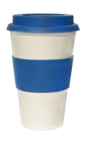 Ecoffee silicone-Blanc/Bleu
