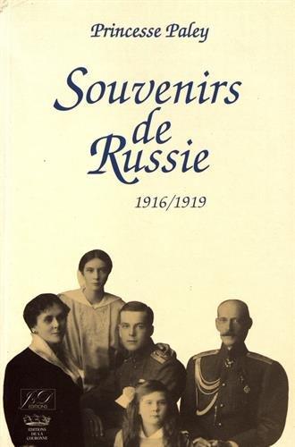Souvenirs de Russie : 1916-1919