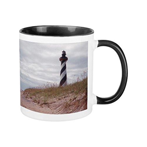 Natale tazze regalo per uomo in ceramica Cape Hatteras Faro Tazza Divertente per donne ufficio Cup Presents 11oz