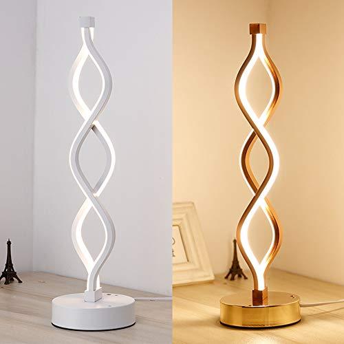HELEISH Lámpara de Lectura de Escritorio con luz de Mesa LED de ...