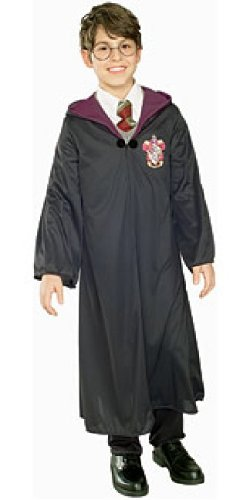 Rubie 's Offizielles Kinder Kostüm Harry Potter Gryffindor Adult Robe Robe mit Verschluss Size - Medium - M - 5-7 Years ()
