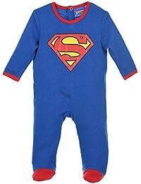 Pyjama coton bébé Superman Bleu/rouge de 3 à 24mois