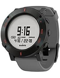 Suunto Herren-Armbanduhr Armband Kautschuk Gehäuse Edelstahl Batterie Digital SS020691000
