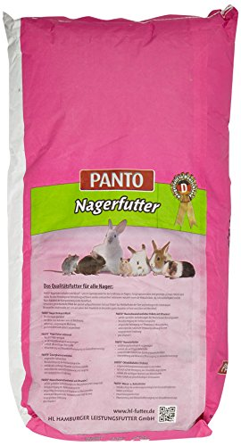 Panto Nagerfutter Universal mit Wisan-Lein, 1er Pack (1 x 25 kg) - 3