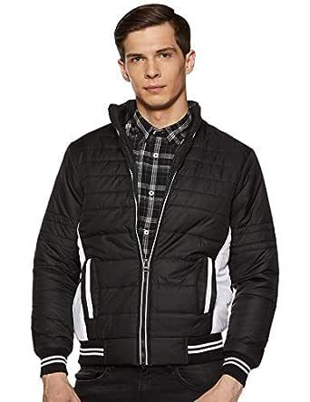Qube By Fort Collins Men's Jacket (1265_Black_XL)