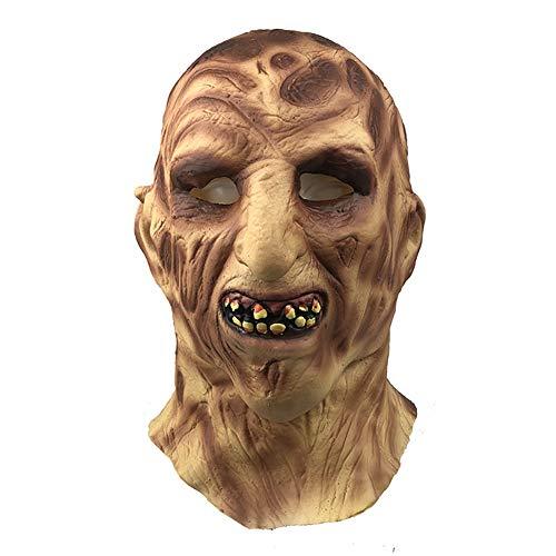 Story of life Halloween Latex Walking Dead Maske, Zombie Decay Horror Kostüm Party Masken Für Karneval Halloween Mottopartys,Flesh (Sie Von Einer Art Halloween-kostüme Kaufen Ein)